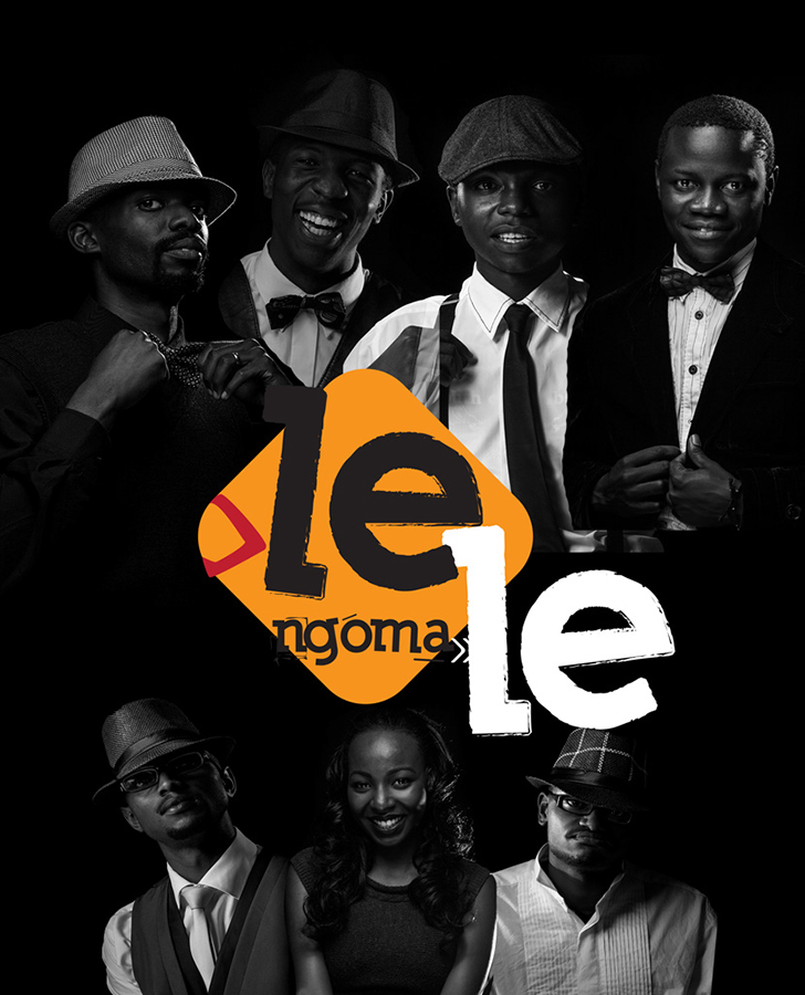 Lele Ngoma Collage